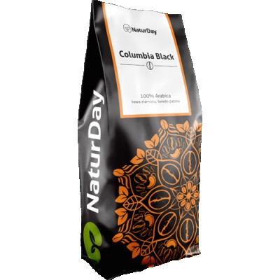 NaturDay - Kawa Columbia Black 1kg.